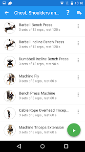 JEFIT Workout Tracker Gym Log- screenshot thumbnail