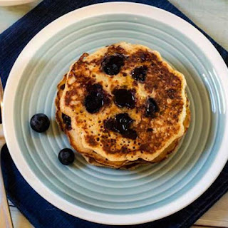 How to Make Tasty Blueberry Quinoa Pancakes Breakfast