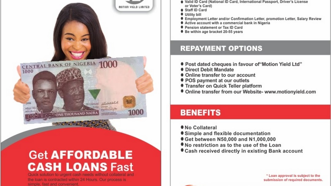 Motion Yield Ltd - Bank in Somolu