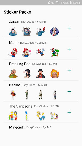 WAStickerApps - Stickers for WhatsApp 1.0.13 screenshots 2