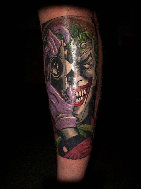 50 crazy joker tattoos designs and ideas for men and women. Black Bedroom Furniture Sets. Home Design Ideas