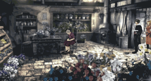 民家の花を調べる