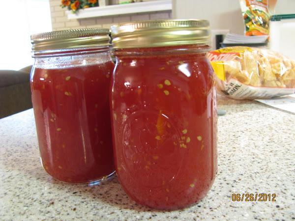 Homemade Tomato Preserves Recipe