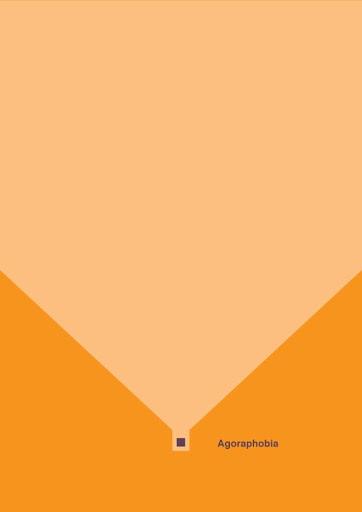 Agorafobia, póster minimalista