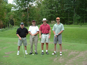 Photo: Bob Cordukes, André Picard, Ross McIntyre, Bob Moskal