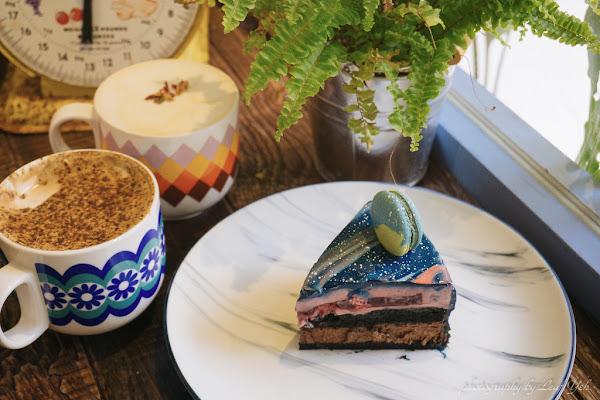 風雨珈琲。眼底星空,蛋糕跌落手中! /桃園星空蛋糕/桃園小宇宙星空鏡面蛋糕