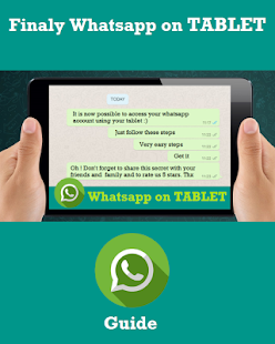 Guide WhatsApp to Tablet- screenshot thumbnail