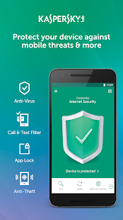 Kaspersky Mobile Antivirus: AppLock & Web Security- screenshot thumbnail