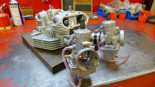 Culasse Triumph T140  par Machines et Moteurs
