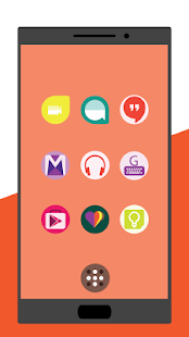 Minimal Colors - Icon Pack Screenshot