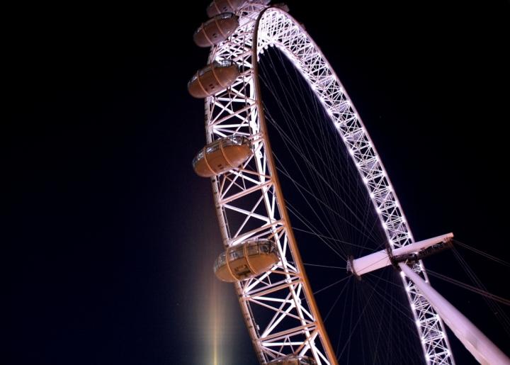 London Eye di ludina