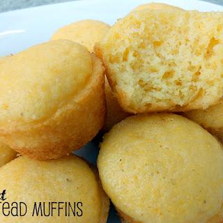 Sweet Cornbread Cake Muffins.
