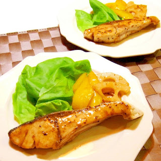 Grilled Yellowtail with Butter and Soy Sauce