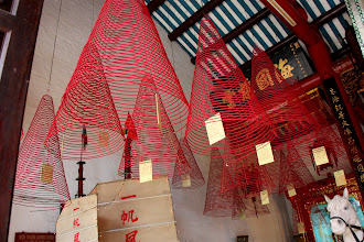 Photo: Year 2 Day 1 -  Spiral Incense at the Cantonese Assembly Hall, Hoi An (Vietnam)
