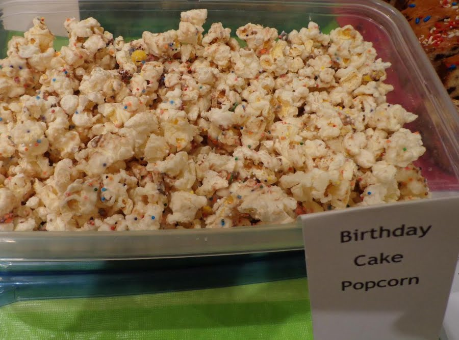 Admirable Birthday Cake Popcorn Just A Pinch Recipes Funny Birthday Cards Online Fluifree Goldxyz