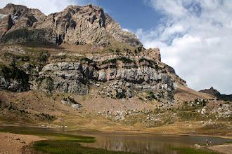 Photo: Vall de Tena:  ibon de Piedrafita i Peña Telera