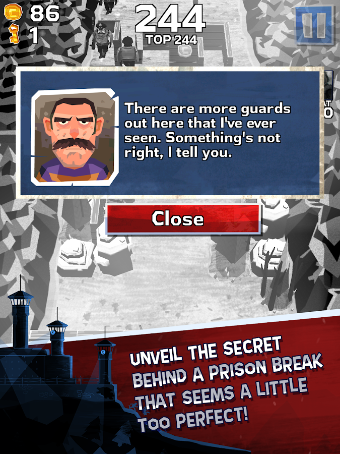 Winter Fugitives- screenshot