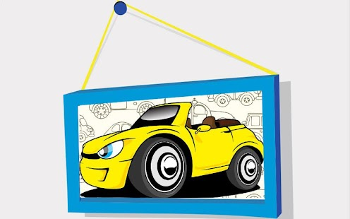 Kids Puzzle: Cartoon Cars - náhled