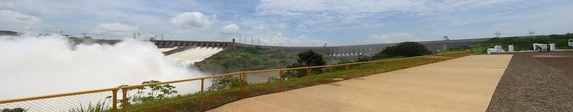 Photo: Itaipu dam panorama