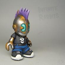 Photo: Available at http://infiniterabbits.storenvy.com/ #kidrobot #bots #misfits