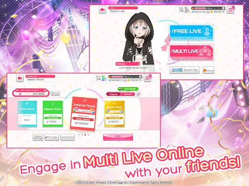 BanG Dream! Girls Band Party! modavailable screenshots 11