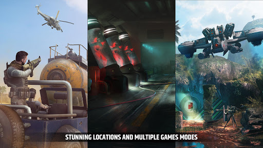 Cover Fire: free shooting games Games (apk) gratis te downloaden voor Android/PC/Windows screenshot