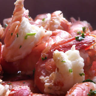 Spanish Tapa - Garlic Shrimp.