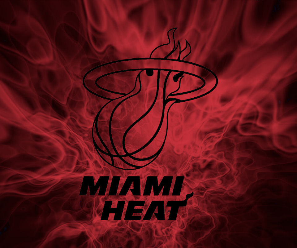 Miami Heat: Flames Wallpaper By Fatboy97