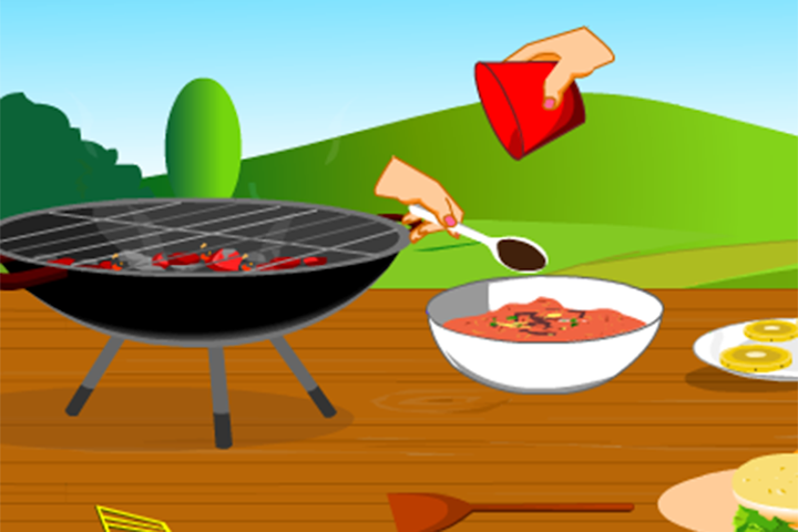 android Girls Cooking-Burger Screenshot 4