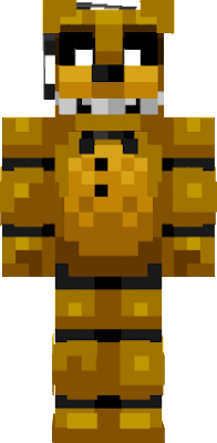 Golden Freddy is from fnaf