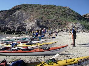 Photo: Landing on Isla San Francisco