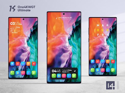 One4KWGT Ultimate Mod Apk – free widgets for KWGT 4