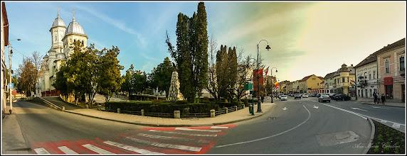 Photo: Str. Andrei Şaguna - intersectie cu Piata 1 Decembrie 1918 - 2017.03.17