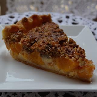 Peach Praline Skillet Pie