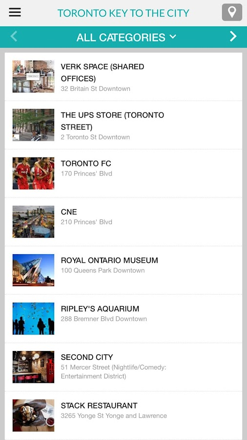 TORONTO CITY KEY- screenshot