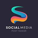 Social Media Post Maker - Socially Graphics Design icon