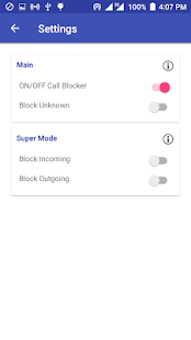 Easy Call Blocker Screenshot
