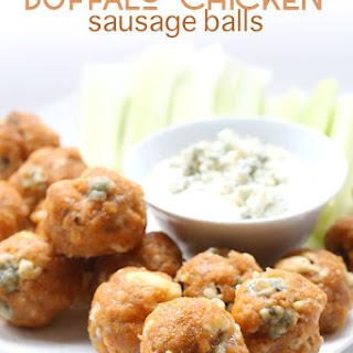 Buffalo Chicken Sausage Balls