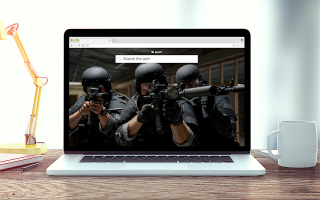 SWAT Wallpapers New Tab Theme