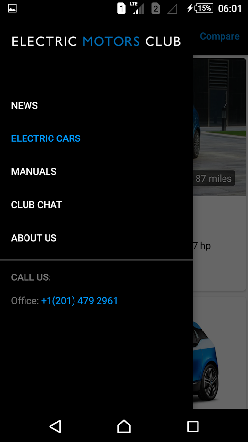 Electric Motors Club- screenshot