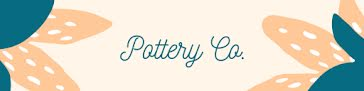 Pottery Co. - Etsy Shop Big Banner Template