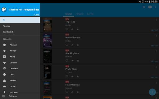 Themes for Telegram  screenshots 13