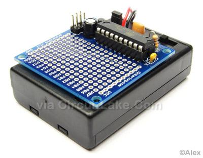 AVR tiny proto board