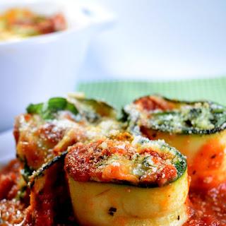 Zucchini Lasagna Spirals