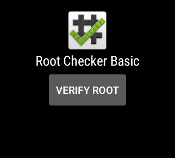 Root Checker- screenshot
