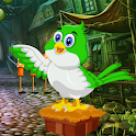 Bird Rescue From Old House Best Escape Game-338 icon