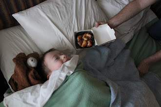 Photo: Third day - breakfast in bed