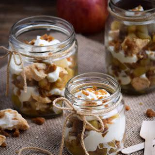 Crunchy Toffee Cinnamon Apple Eton Mess