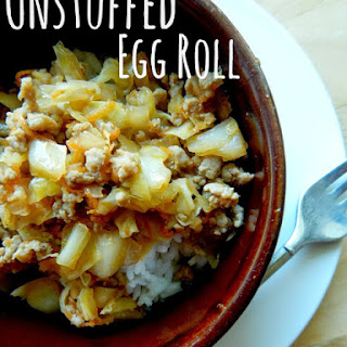Unstuffed Egg Roll Bowls