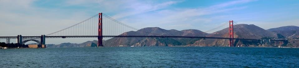Photo: Golden Gate Panorama DSC_4484